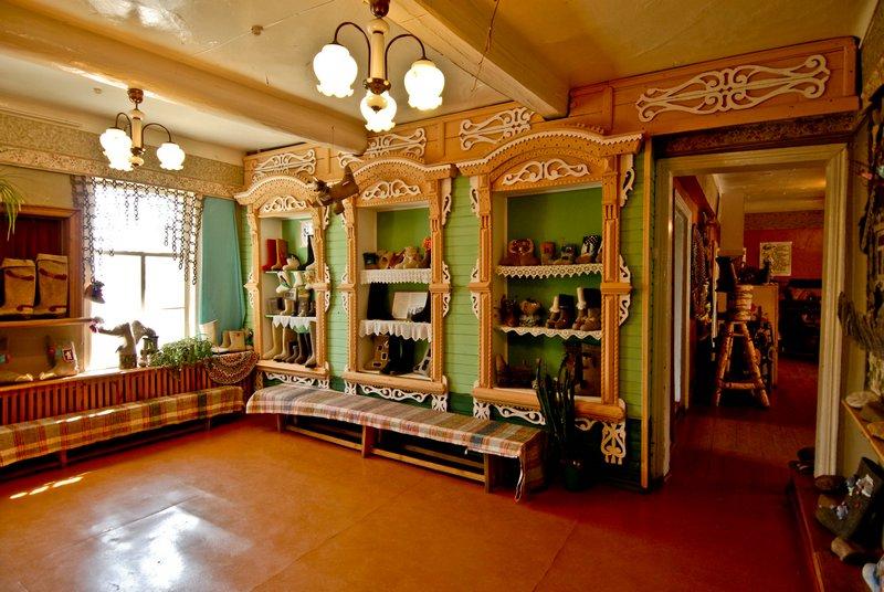 Музей русские валенки с выставкой